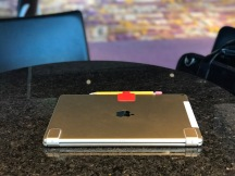 Hinges on the back of the iPad Pro